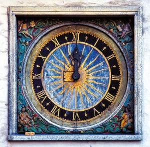 Holy Spirit Church clock